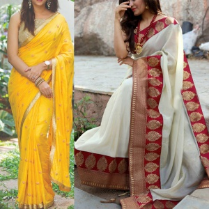 Set Of Two Fabulous Sarees
