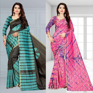 Combo Of Two Amazing Sarees